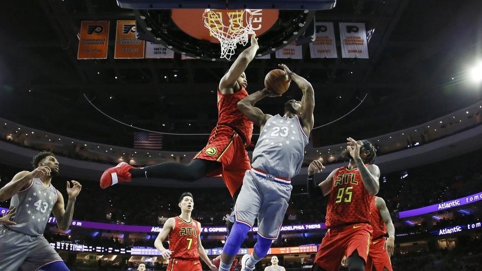 【球星】科林斯vs费城集锦 25+9关键高难度后仰盖棺定论_NBA全场集锦