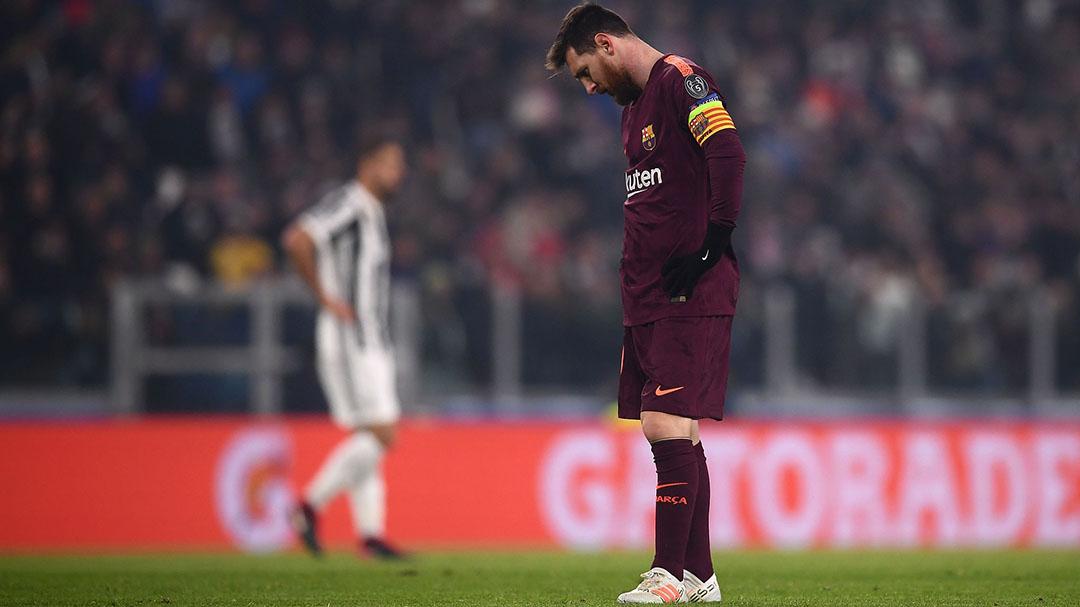 【球星】千呼万唤始出来!梅西任意球圆月弯刀险破僵_巴塞罗那