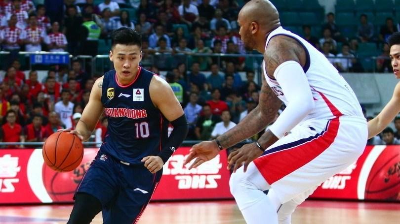 赛后采访胡安:广州队前三节做得很好但最后一节防守不够好_CBA全场集锦