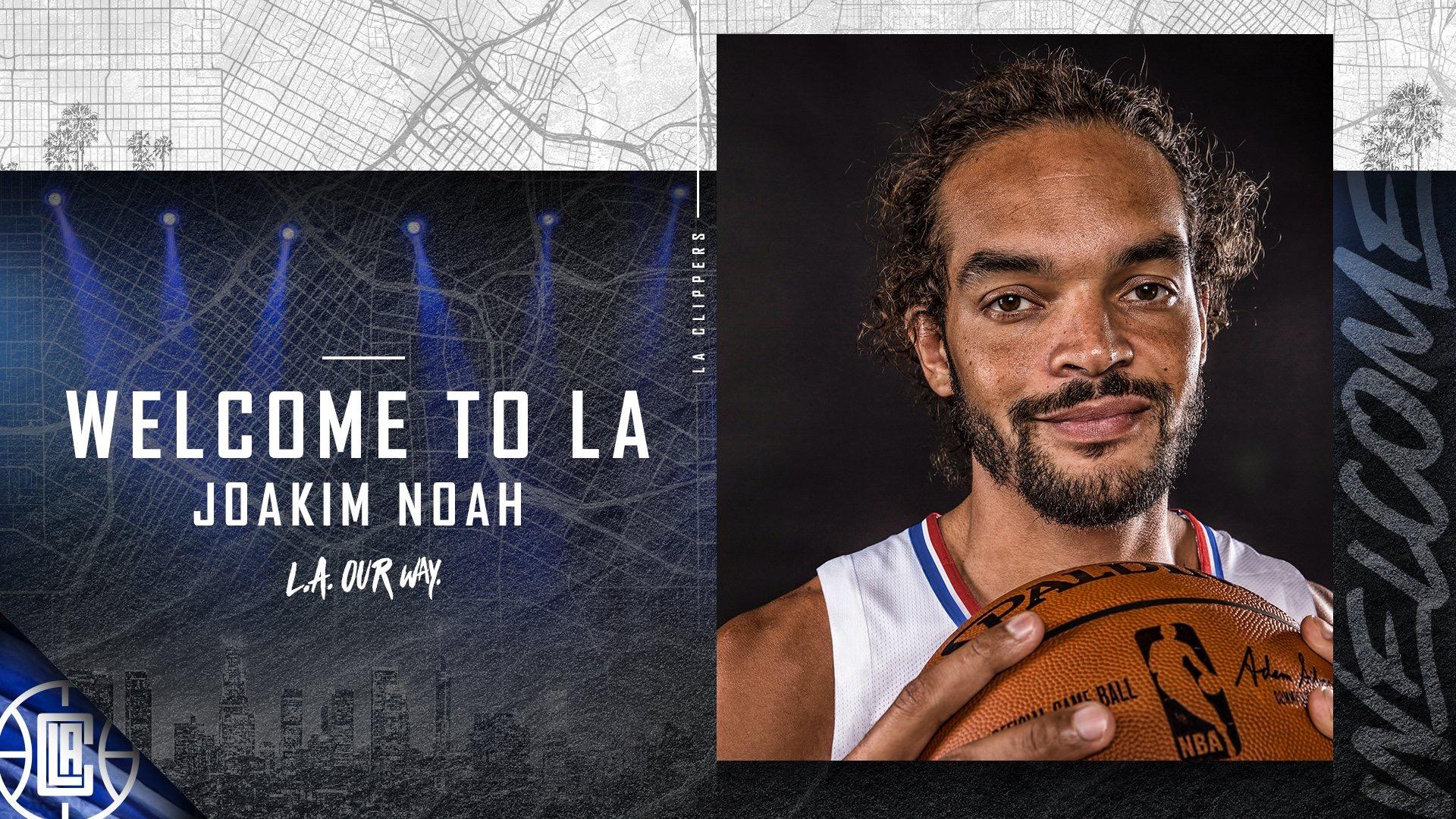 快船正式与诺阿签约十天短合同 回顾灰熊时期诺阿高光集锦_NBA每日重磅