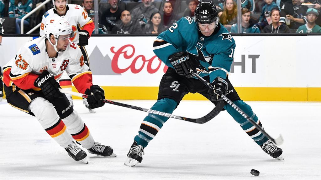 【进球】帽子戏法!门前垫射扩大比分_NHL比赛集锦
