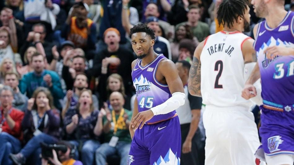 此路不通我偏要闯 克拉克森无视利拉德急停干拔拿下爵士生涯首分_NBA全场集锦