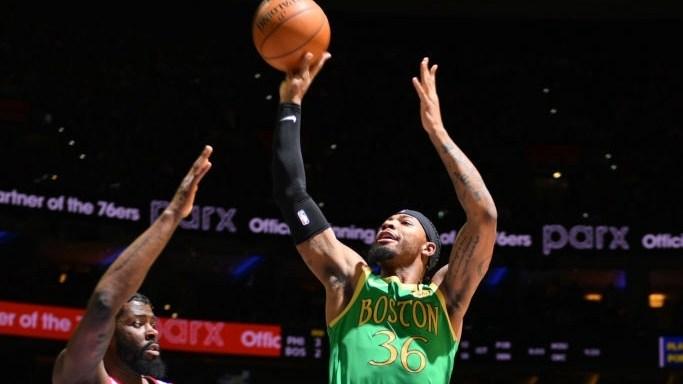 【原声回放】凯尔特人vs76人第1节 沃克开场上演三分帽子戏法_NBA全场回放