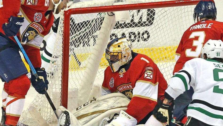 【集锦】NHL-棕熊4-2美洲豹止颓势 联盟射手王梅开二度_NHL比赛集锦