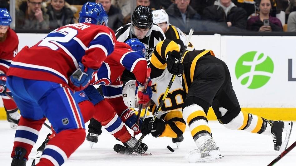 【集锦】NHL-企鹅4-1大胜加拿大人 新援朱克梅开二度_NHL比赛集锦