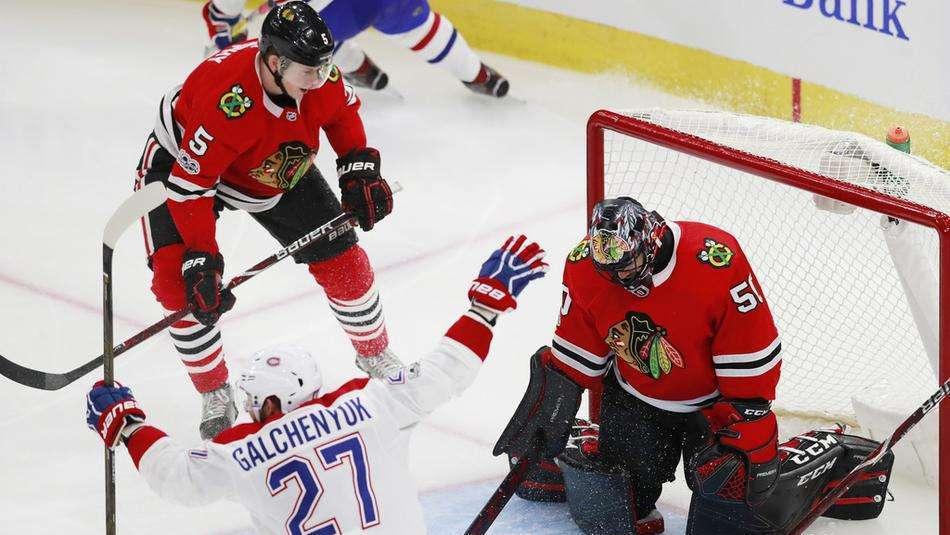 【进球】停不下来的节奏!普洛克自摆乌龙岛人彻底凉凉_NHL比赛集锦