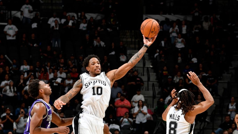 【原声回放】国王vs马刺加时 穆雷跳投终结比赛_NBA全场回放