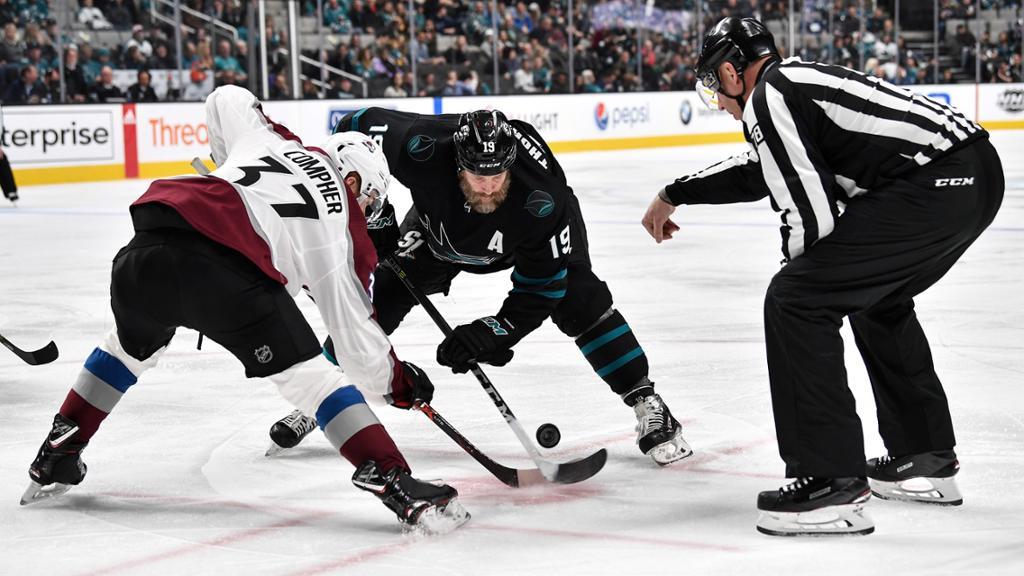 【回放】NHL常规赛 鲨鱼VS雪崩 第一节_NHL全场回放