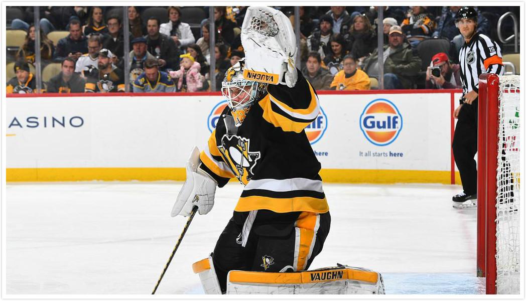 【集锦】马尔金梅开二度 企鹅队5-2参议员迎三连胜_NHL比赛集锦