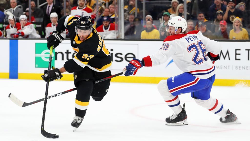 【集锦】棕熊4-1大胜加拿大人 帕斯特纳克生涯第8个帽子戏法荣登射手榜第一_NHL比赛集锦