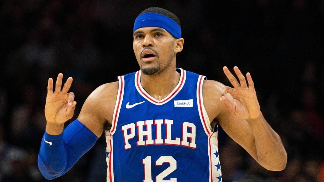 【回放】爵士vs76人第1节 恩比德横刀立马单臂隔扣戴维斯_NBA全场回放