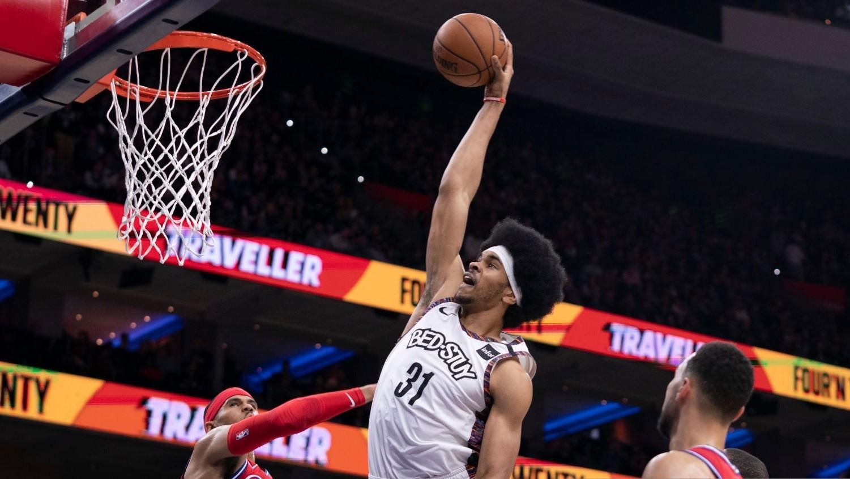 【原声回放】篮网vs费城第4节 哈里斯关键时刻掌管比赛_NBA全场回放