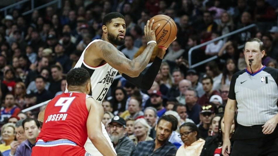 【原声回放】国王vs快船第1节 乔治复出取首分_NBA全场回放