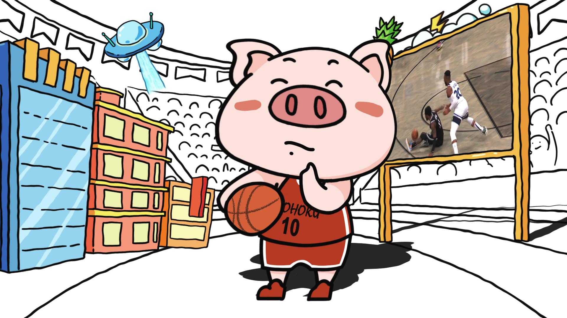 也许是最优秀的NBA动画!