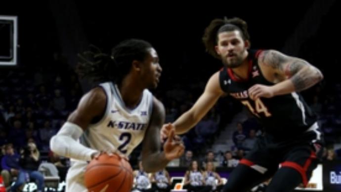 【回放】NCAA:德克萨斯理工大学vs堪萨斯州立大学上半场_NCAA