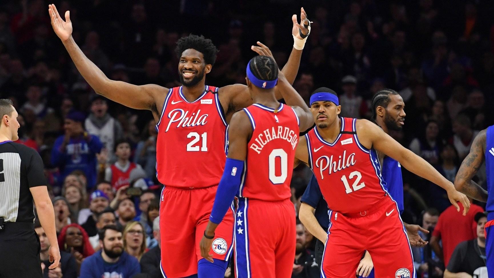 【回放】快船vs76人第2节 莱昂纳德爆发率队追分_NBA全场回放