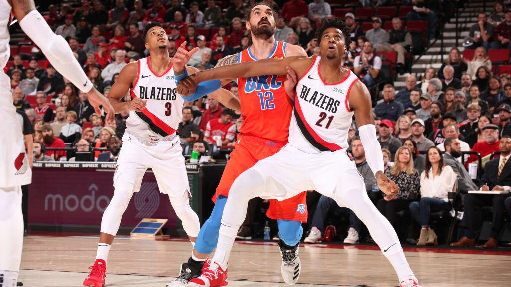 【得分】实在是美如画啊 甜瓜挑衅两下蹦起直接干拔_NBA全场集锦