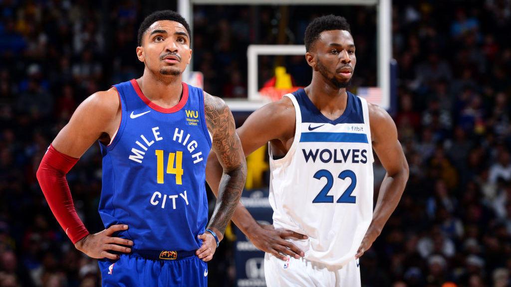 【原声回放】森林狼vs掘金第4节 约基奇连线米尔萨普技惊四座_NBA全场回放