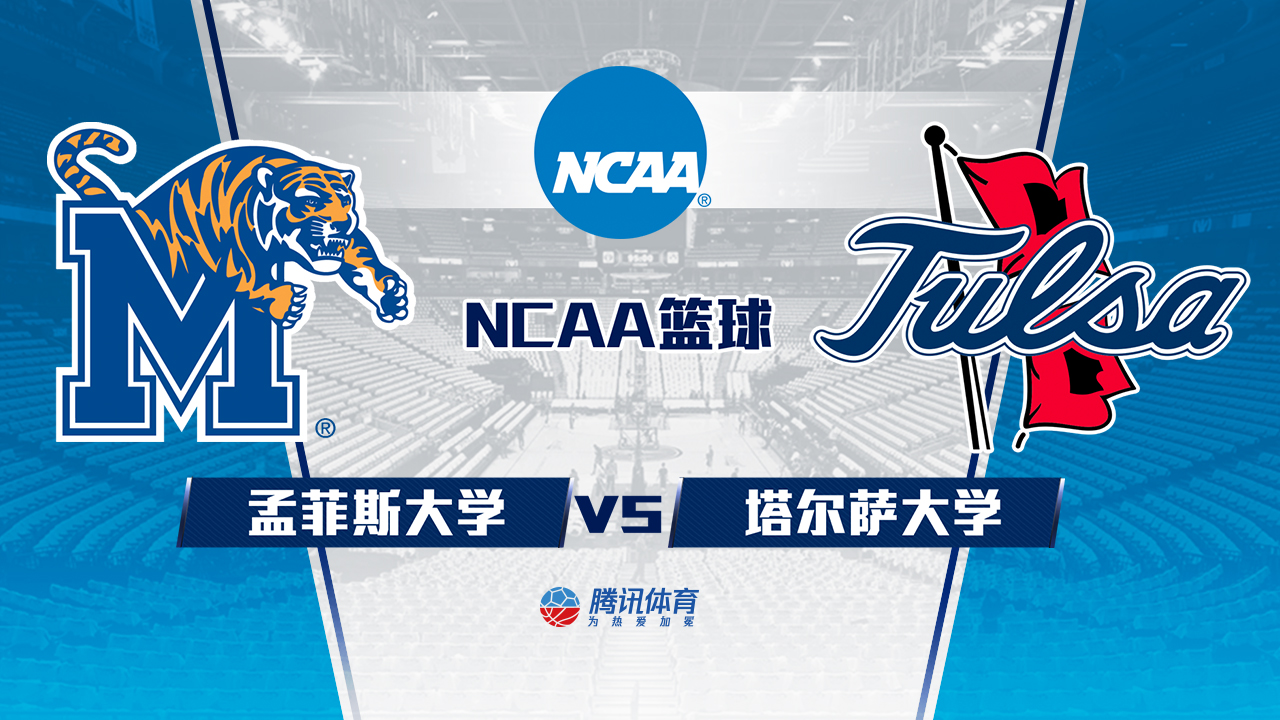 【回放】NCAA:孟菲斯大学vs塔尔萨大学下半场_NCAA