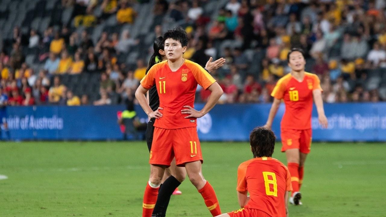 唐佳丽世界波破门!中国女足1-1战平澳大利亚 淘汰赛将战韩国女足_国足