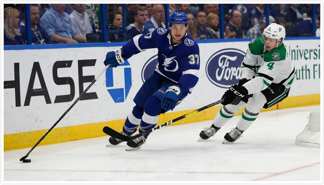 【进球】帕拉特梅开二度!闪电弹射领先星队两分_NHL比赛集锦