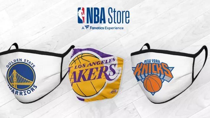NBA商城开始出售球队logo特色口罩 所得收入将用于