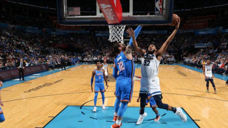 【得分】超燃时刻!亚当斯末节超远连线助飞罗德压哨打进续写比赛_NBA全场集锦