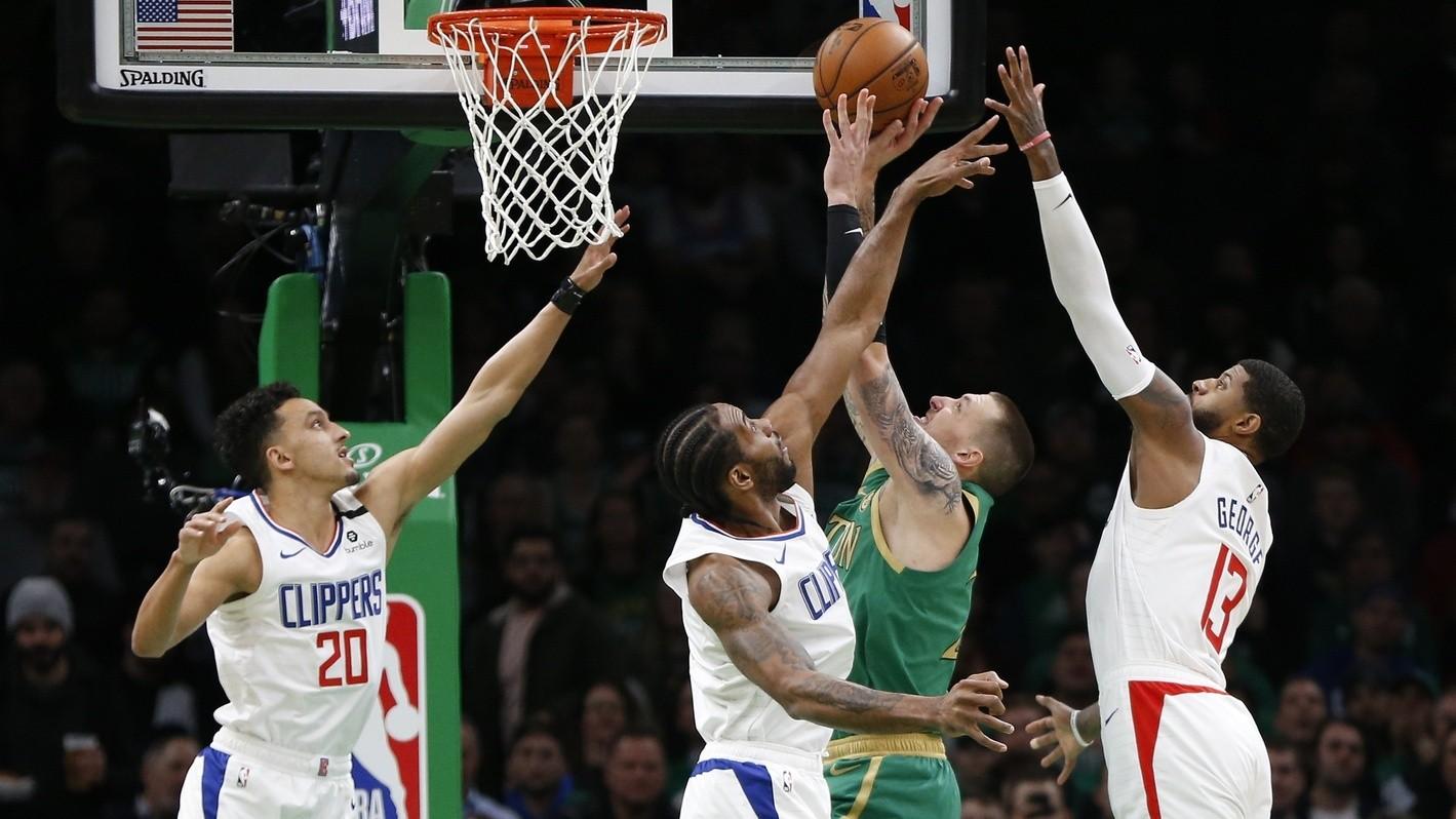 【回放】快船vs凯尔特人加时2 沃克晃飞沙梅特飙进三分_NBA全场回放