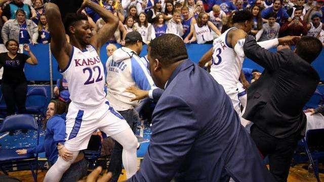 【回放】NCAA:贝勒大学vs堪萨斯州立大学下半场_NCAA