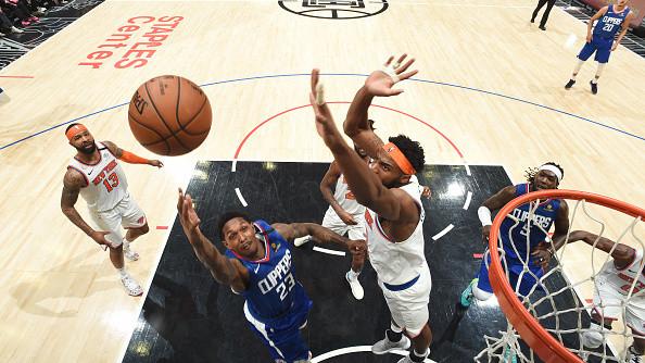 【原声回放】尼克斯vs快船第4节 乔治32分打卡下班_NBA全场回放