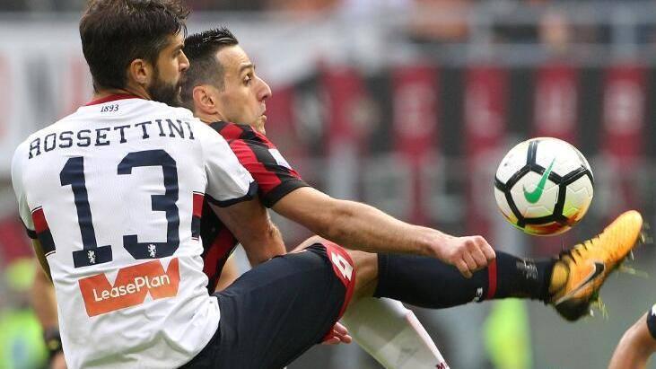 【回放】17/18意甲第9轮:AC米兰vs热那亚 上半场