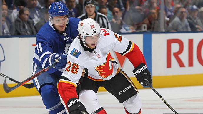 【得分】火焰迅速作出回应 杜比门前乱战捅射扳平比分_NHL比赛集锦