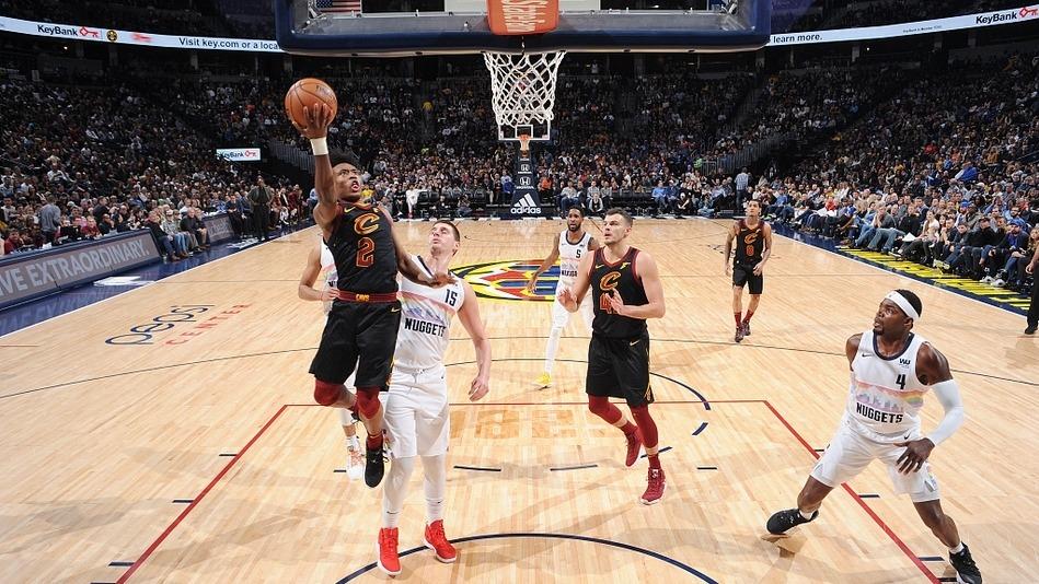 【得分】飞龙在天!奥斯曼拉杆滑翔上篮打进_NBA全场集锦