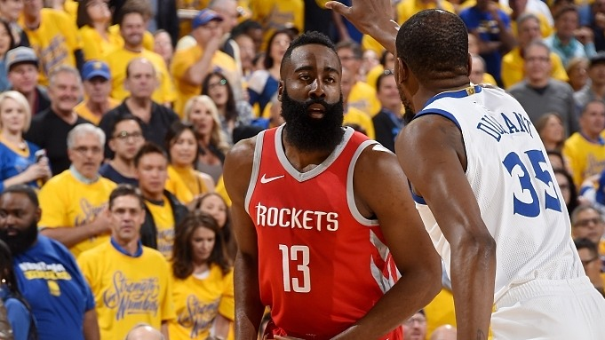 【回放】火箭vs勇士全场纯享 库里后发制人单节18分导演一波流_NBA全场回放