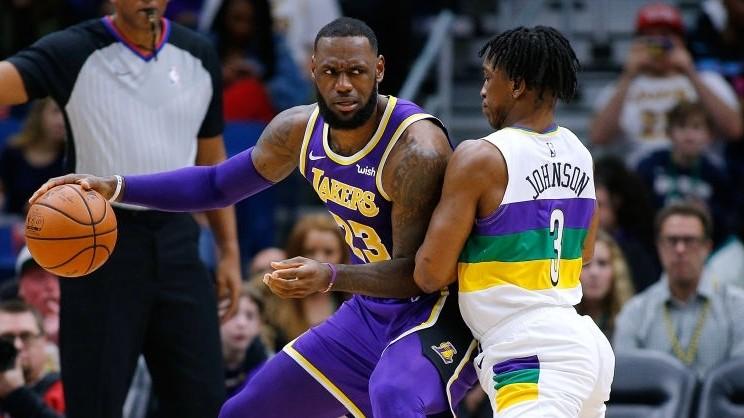 《NBA情报局》2月24日湖人vs鹈鹕 浓眉要送詹皇大礼?_洛杉矶湖人