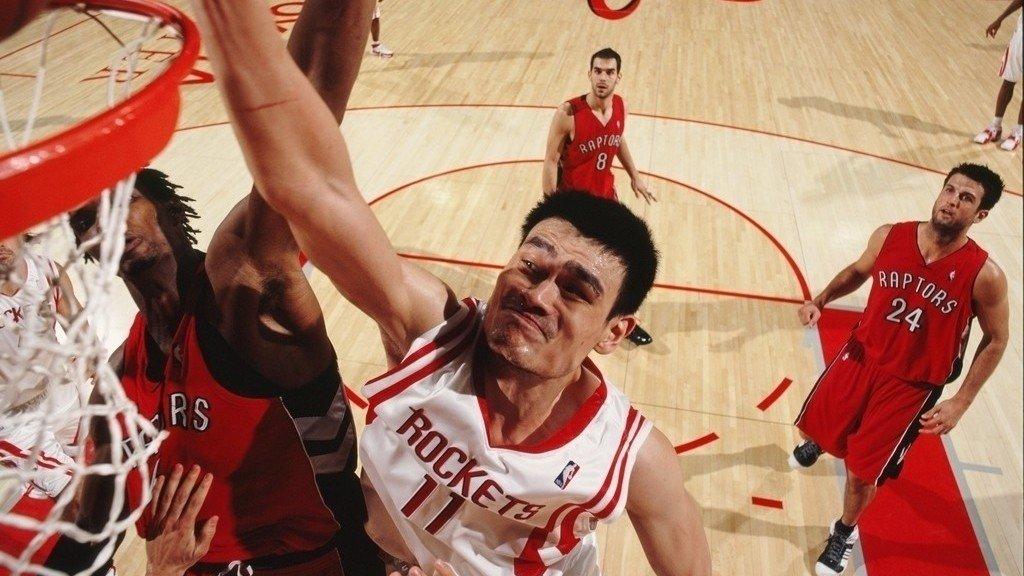 NBA五大超强大高个 现役波神最强姚明榜首一大波盖帽_全景NBA