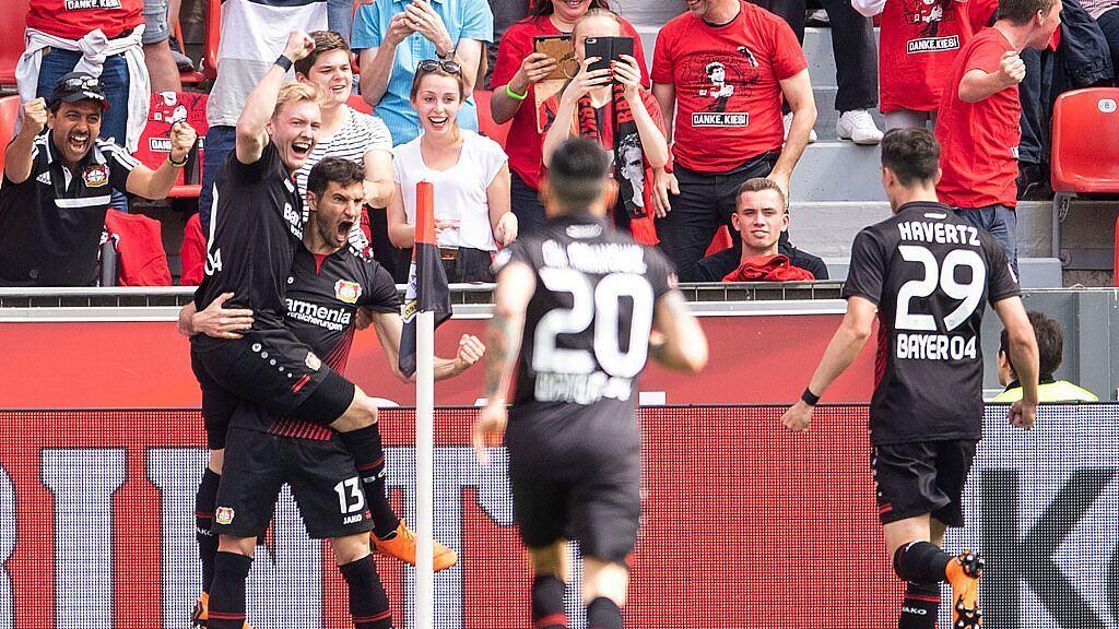 【回放】17/18德甲第34轮:勒沃库森vs汉诺威96 上半场_德甲豪强