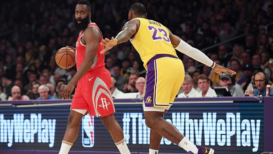 【回放】火箭vs湖人第4节 NBA年度最强斗殴混战
