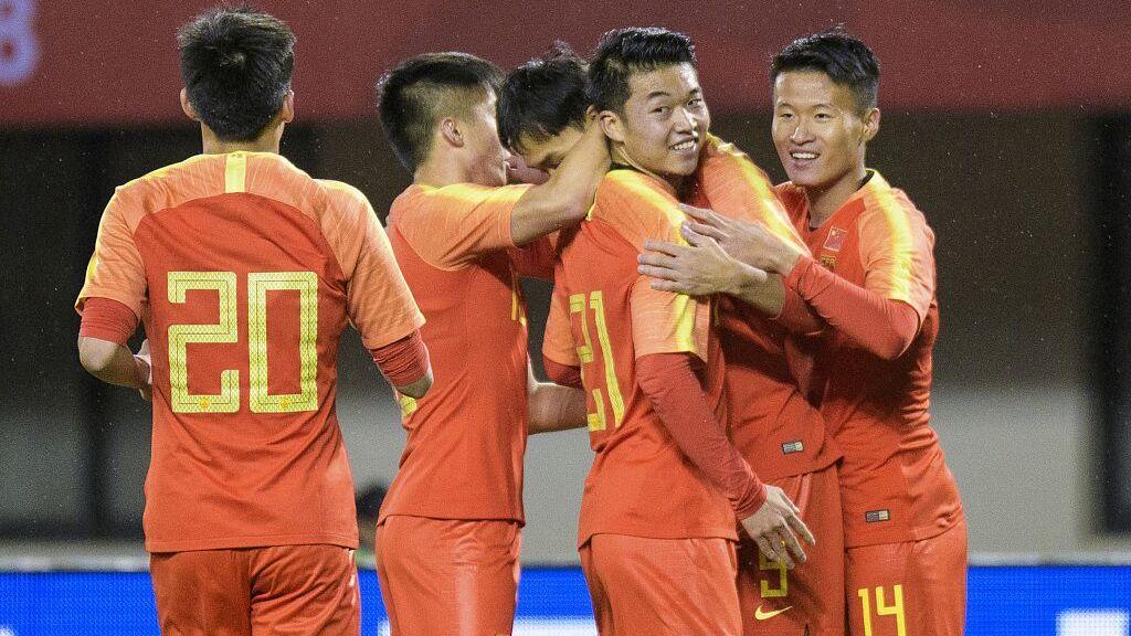【回放】2018中国之队友谊赛:中国男足U21vs泰国男足U21 上半场_国足