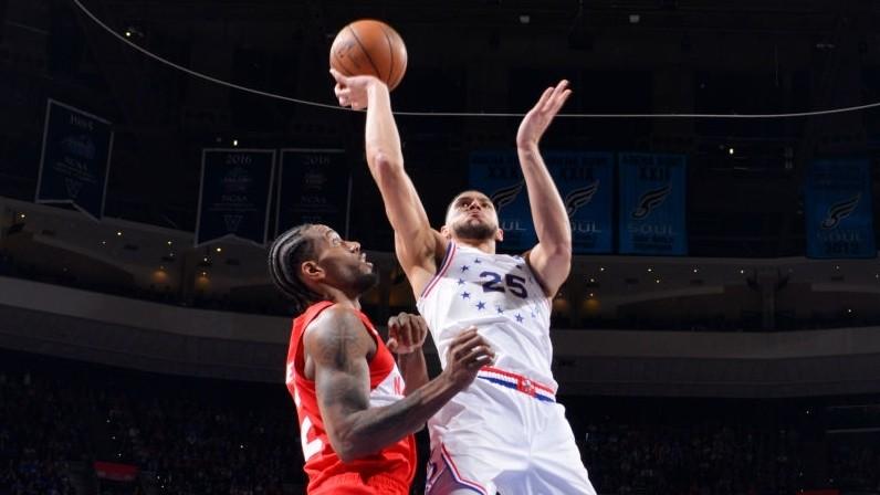 【回放】猛龙vs费城第2节 莱昂纳德接球起飞暴力劈扣_NBA全场回放