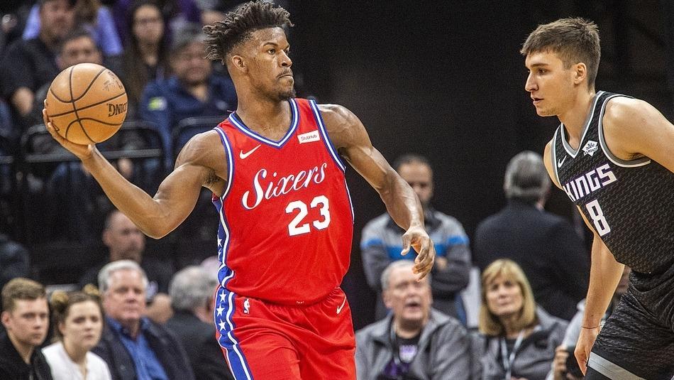 【得分】希尔德反击欧洲步抛投 福克斯冲锋上篮10-0打停费城_NBA全场集锦