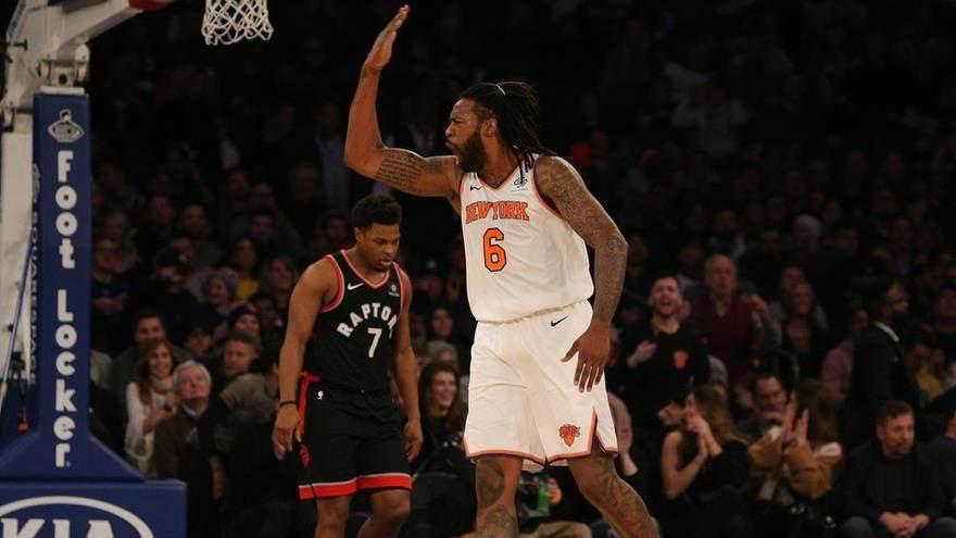 【纯享】猛龙vs尼克斯精华回放 猛龙险胜尼克斯_NBA全场回放