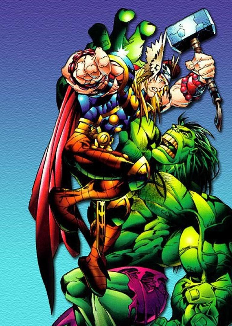 綠巨人大戰雷神托爾