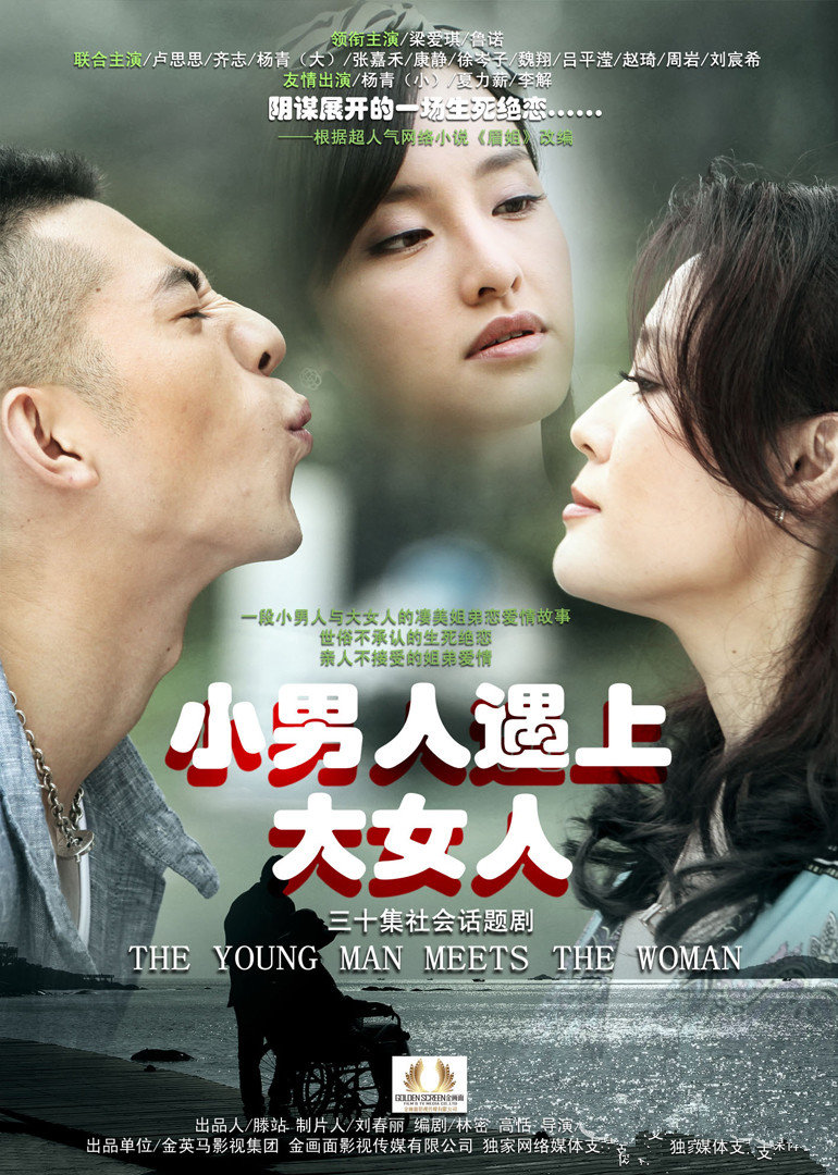 小女人遇上大男人全_小男人遇上大女人(The Young Man Meets The Woman)-电视剧-腾讯视频