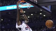 【竖版】27日NBA五佳球 小琼斯炸筐暴扣 360度空中